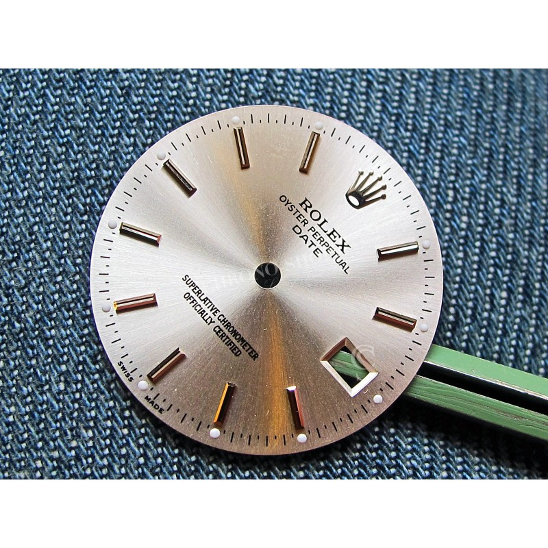 VINTAGE SILVER  DIAL OYSTER PERPETUAL DATE