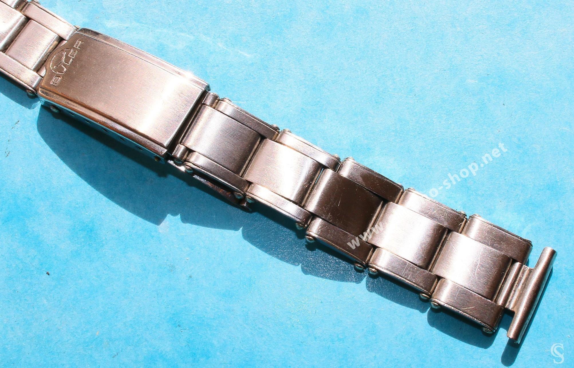 BULER Rare & Collectible Bracelet 15mm Acier Montres Vintages maillons rivets