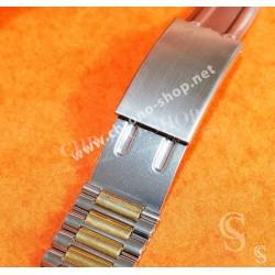 Vintage & RARE 70's Bracelet Bitons Montres NOS 18mm NSA Acier montres vintages ZENITH, TAG Heuer Monaco, Silverstone, Sports
