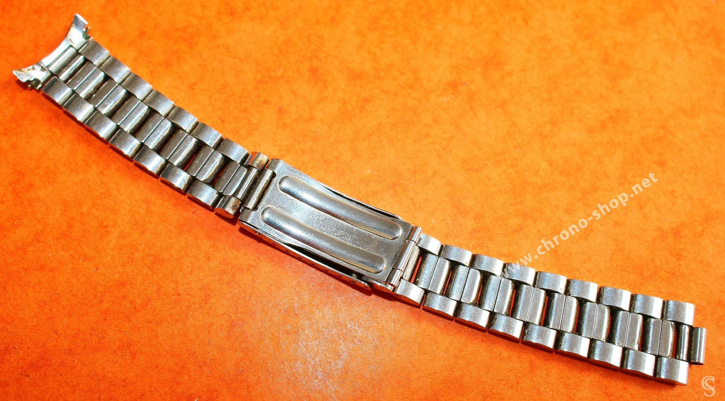 BAUME & MERCIER GENEVE Accessoire Authentique Bracelet Montres 19mm Acier