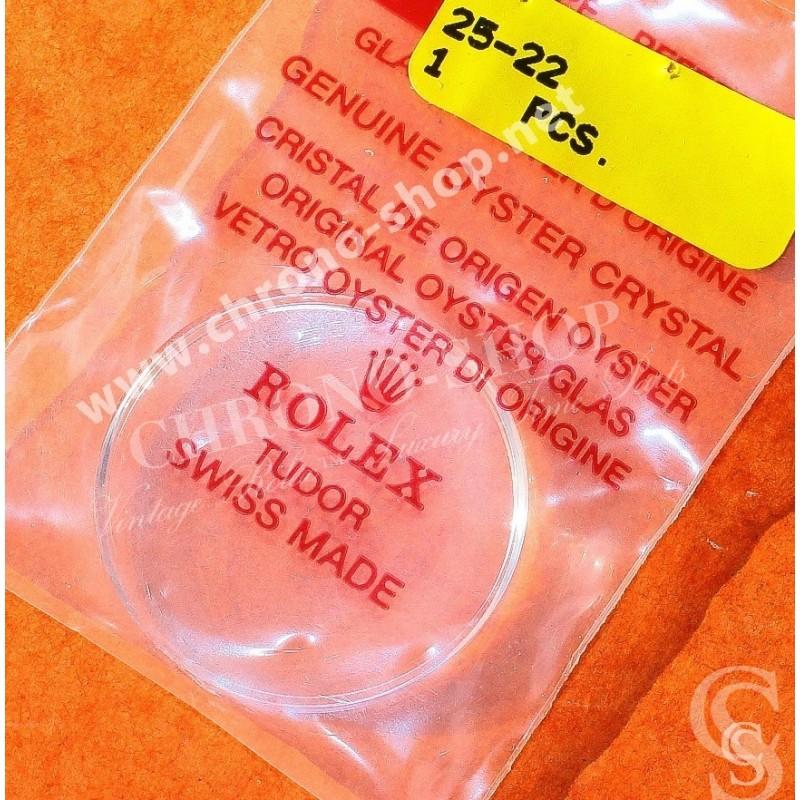 ROLEX N.O.S VERRE ACRYLIQUE NEUF DÔME TROPIC 22 VINTAGE MONTRES ROLEX EXPLORER 1016, 6610