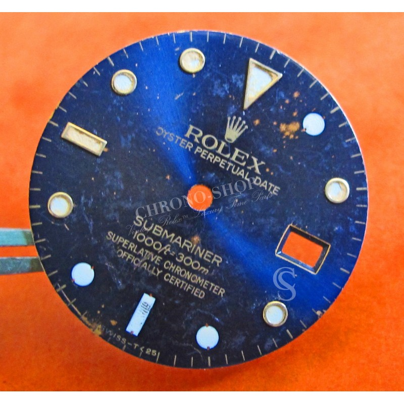 Cadran Rolex Submariner date 16803-16808 or / or et acier bicolore