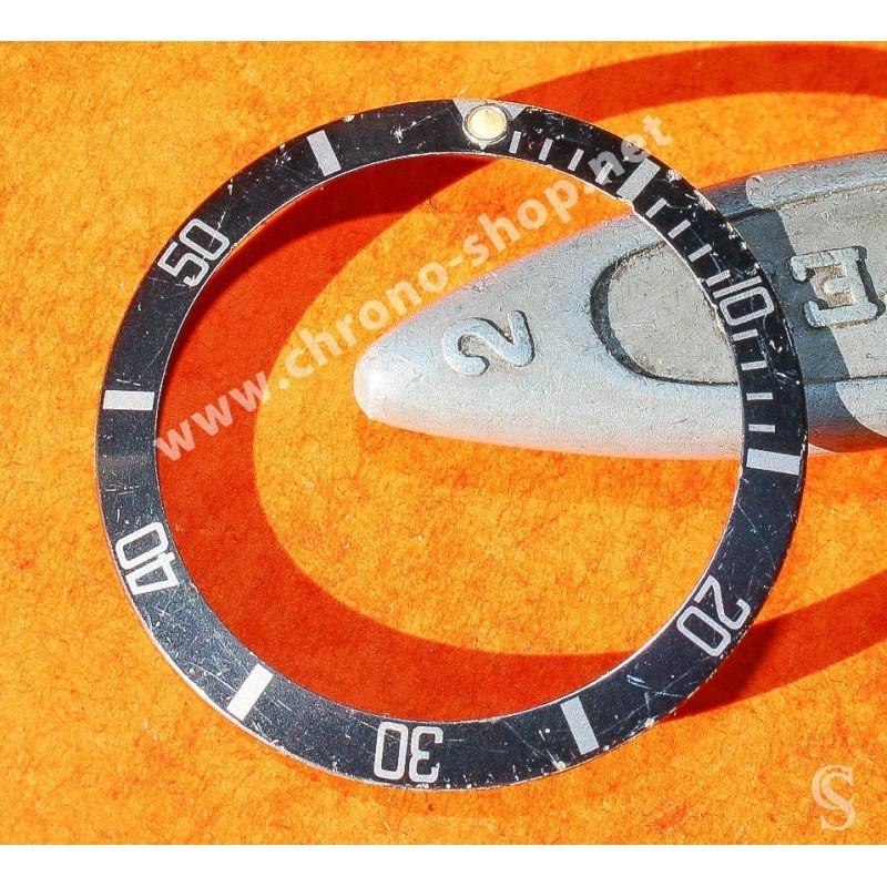 Vintage Rolex Submariner Bezel Insert 16800 16610 faded tritium dot