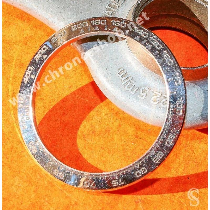 ★★ Lunette Or Blanc 18kt Tachymètre  Rolex Cosmograph Daytona Ref.116519, 116510, 16519, 16510, 116520  ★★