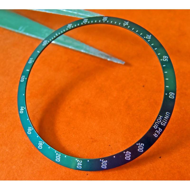 Tudor Chronograph Date 79260 79280 Tiger disque insert gradué couleur vert