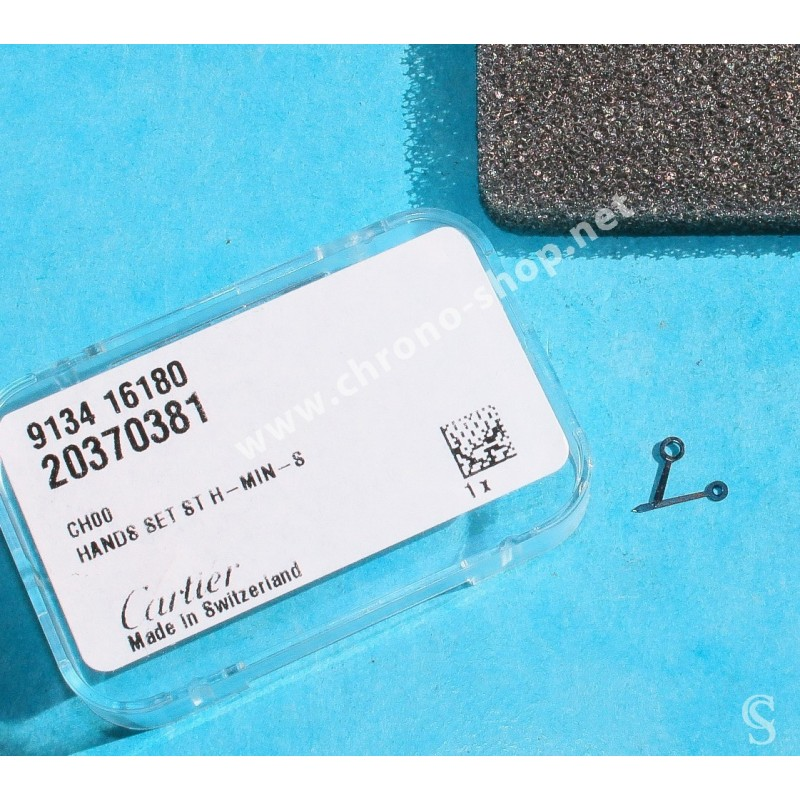Cartier Cadran Santos Galbé 14.54mm Beige avec patine Chiffres Romains de Montre ref MX006JVX 9133 14311