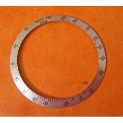 Rare Tudor MONARCH ref 15900 disque insert gradué rose métal