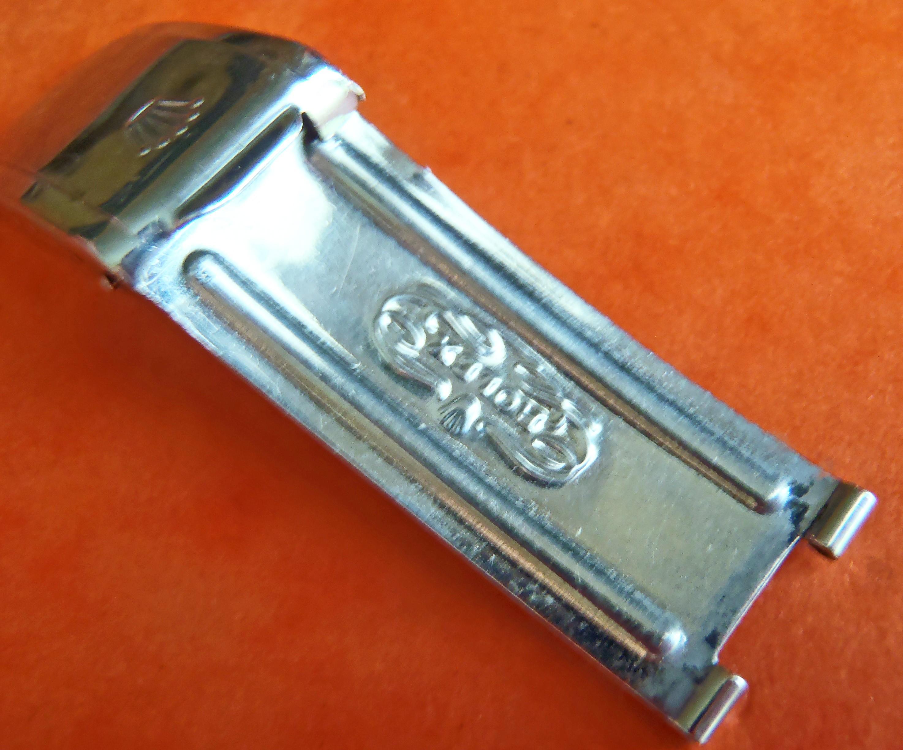 VINTAGE ROLEX 7206 - 6636 FERMOIR RIVET 20mm 5513 5512 1680 1665 1675 5508 6538