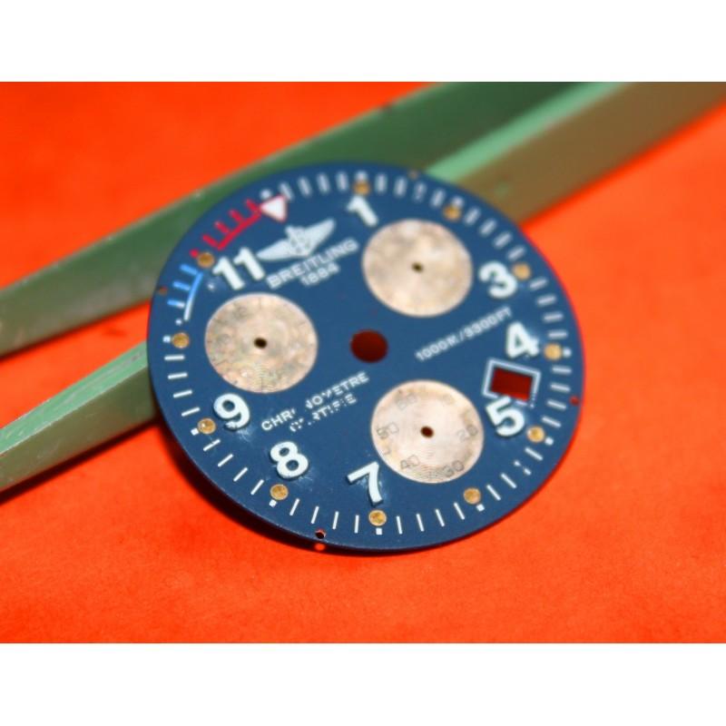 BREITLING CADRAN CHRONOMETRE 1000M - 3300ft COULEUR BLEU