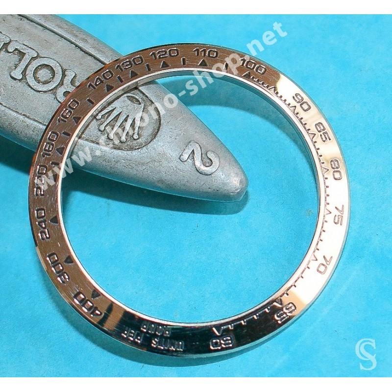 Rolex Lunette Or Blanc 18kt Tachymètre Montres Cosmograph Daytona 116519, 116510, 16519, 16510, 116520,116509