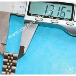 ROLEX PARTIE 1 X BRACELET ACIER MONTRES DAMES JUBILEE 62510D 13mm OYSTER BRACELET LADY