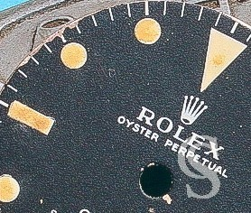 Rolex Rare Exotic Vintage 60's Watch Dial Long E Mark I GMT Master 1675 Tropical Long E Brown, Chocolate