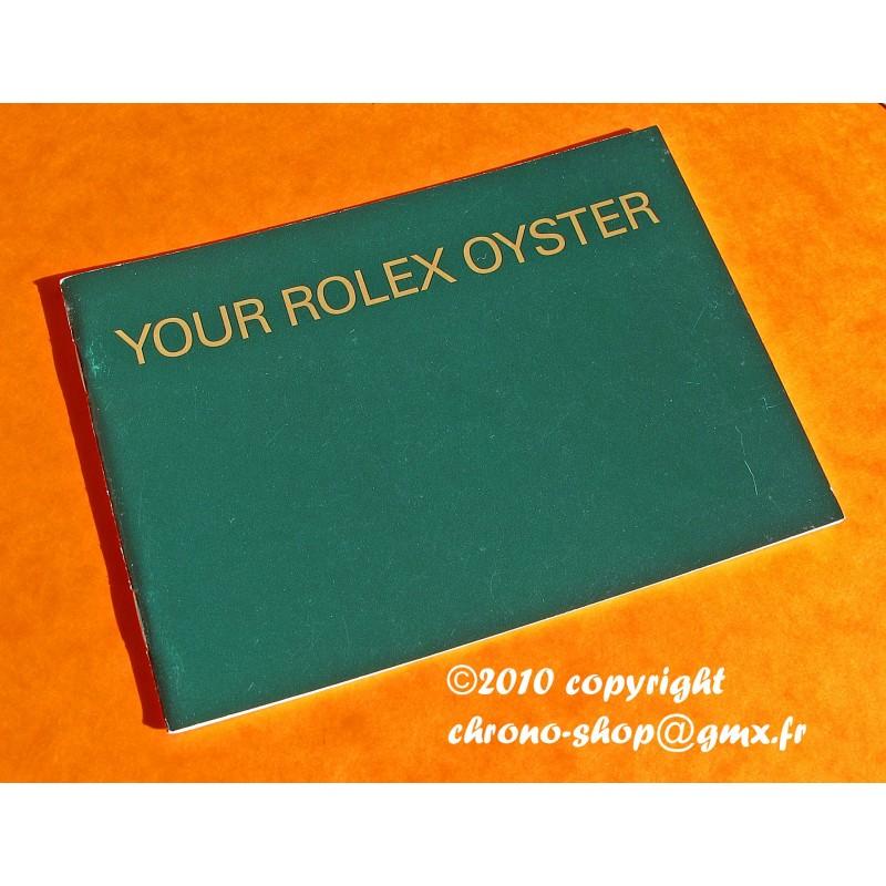 ROLEX OYSTER LIVRET