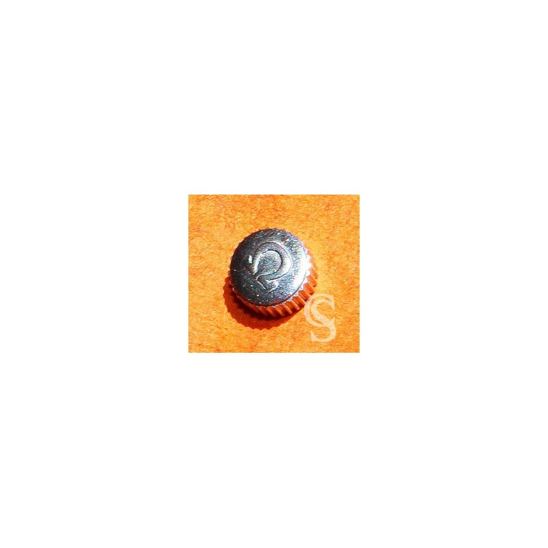 ACCESSOIRE HORLOGERIE AUTHENTIQUE VINTAGE COURONNE MONTRES OMEGA ACIER 5.50mm