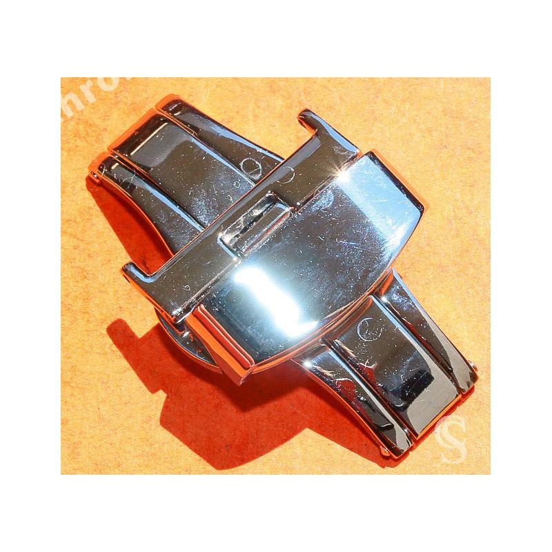 Accessoire horlogerie Montres Bracelet Double boucle déployante acier papillon Bracelets 20mm