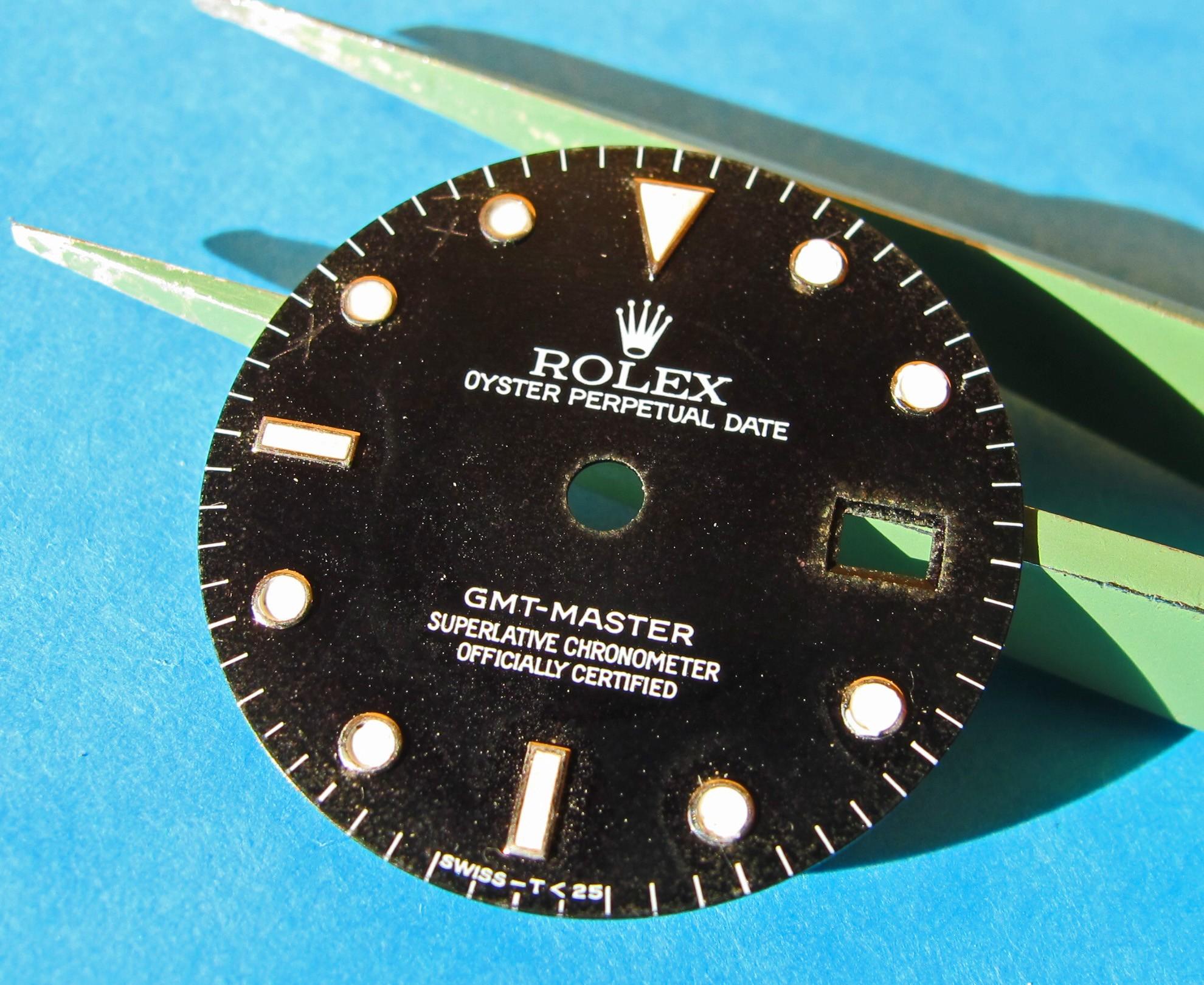 VINTAGE ROLEX GMT DIAL 16700