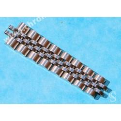 ROLEX LADIES GENUINE 62510D / 568B HALF PART STAINLESS STEEL JUBILEE BRACELET BAND 13mm WATCH BAND