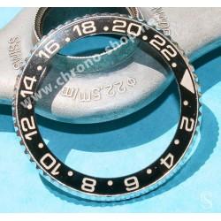 ♛ ROLEX Bezel GMT Master Ceramic 116710 LN Bezel Insert 24H Complete Set Stainless Steel OEM ♛
