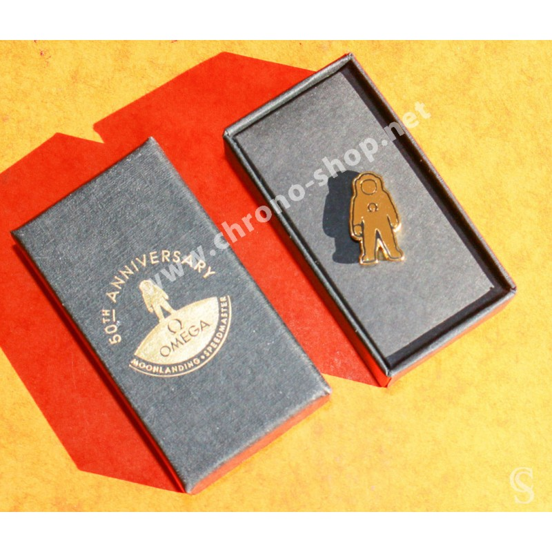 OMEGA Speedmaster Moonwatch Apollo XI 11 50th Anniversary  Goodie pin's