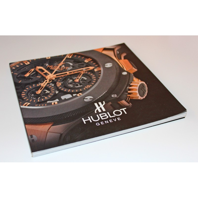 2000's Hublot Chronograph BIG BANG Watch Vintage Advertisement Photo Print Ad book