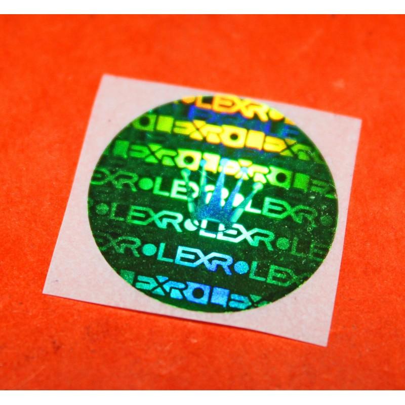 Rolex Watch caseback Hologram Sticker Decal, green Submariner, GMT, Explorer, Daytona 16610, 116520, 16710,16570, 14270, 14060