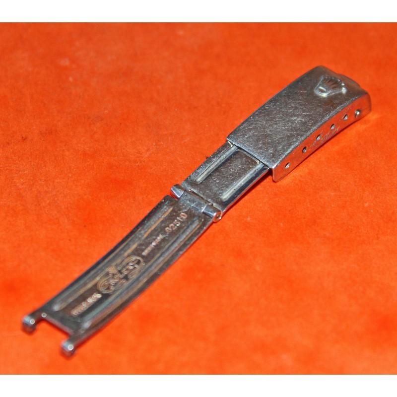 Vintage 60's Ladies Clasp 9.5mm deloyant Steel Datejust 6251 D Jubilee 13mm Watch folded Bracelet ssteel