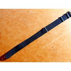 ROLEX BLACK NATO STRAP 20mm SUBMARINER 5512,5513,1665, 16660,14060,16800,16610,5514,5517,5508