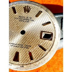 Rolex Genuine & discontinued Collectible Thunderbird Turn-O-Graph Datejust ref 6609 Yellow gold bezel