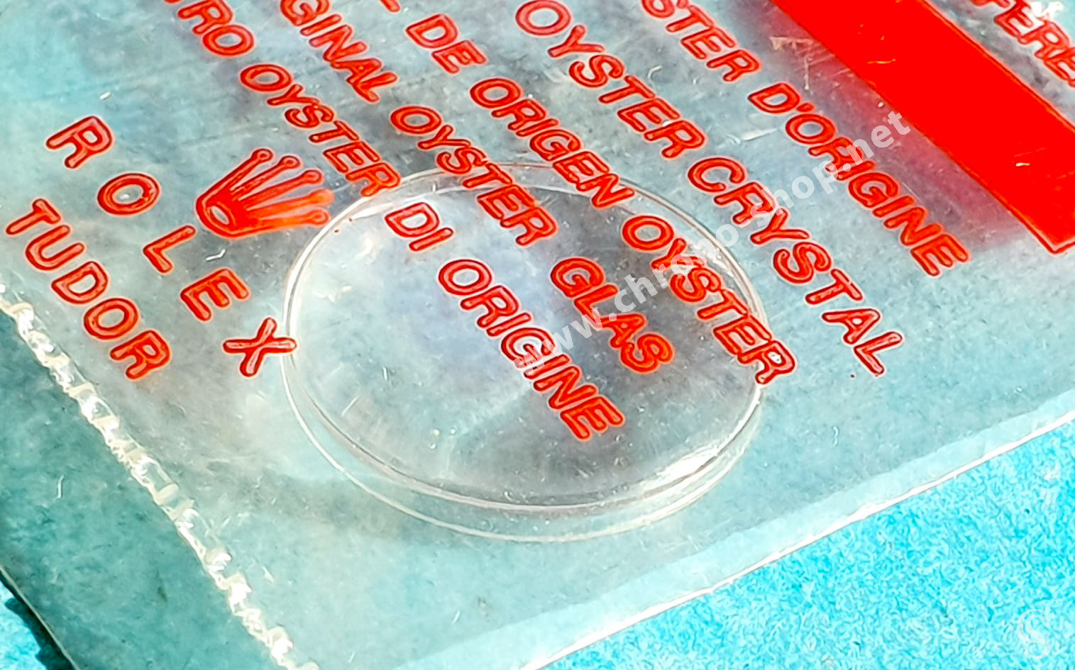 Rolex Tudor Rare Vintage Superdome Tropic 2 verre plexiglas authentique & NOS montres dames
