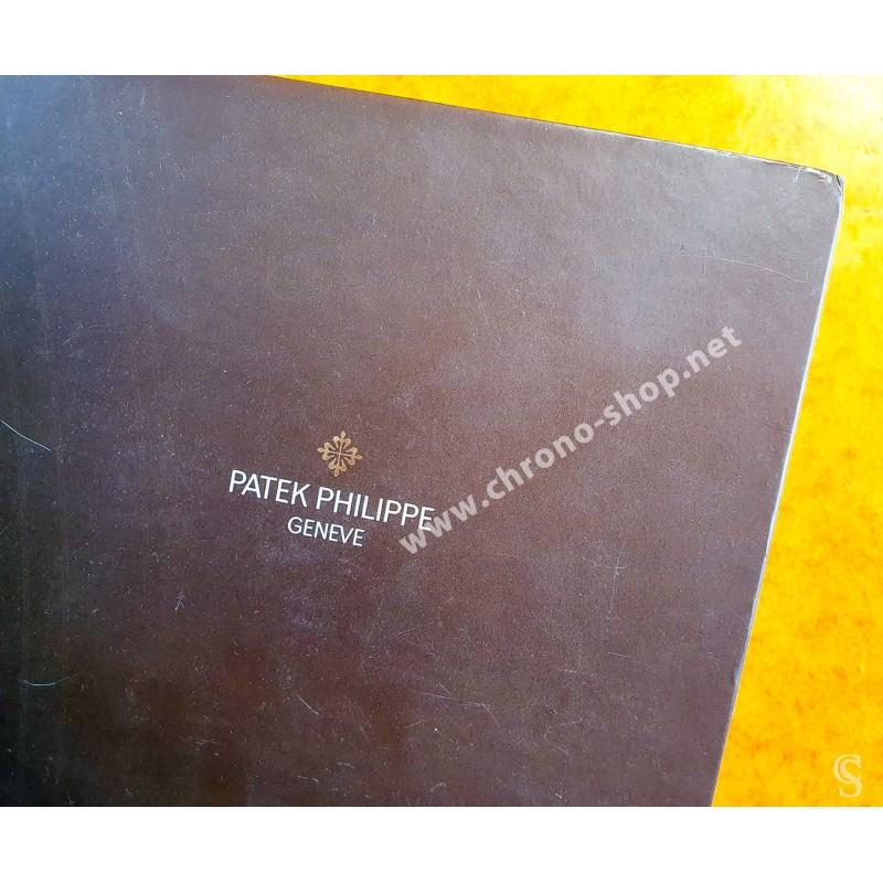 PATEK PHILIPPE CATALOGUE PROFESSIONNEL ETUDE DE LA MARQUE,SERVICE CLIENT,REVISION,HISTOIRE,MONTRES NAUTILUS,CALATRAVA,WORLDTIMER