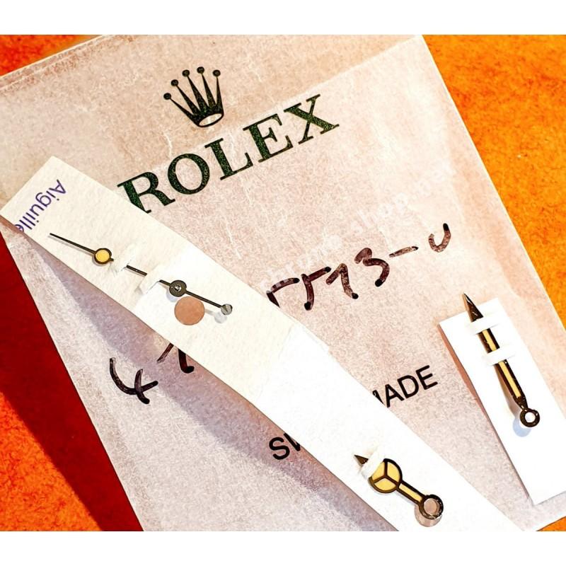 ROLEX RARE NOS AIGUILLES TRITIUM 5512,5513 MONTRES VINTAGES SUBMARINER COULEUR CRÈME JAUNE CAL 1570,1530