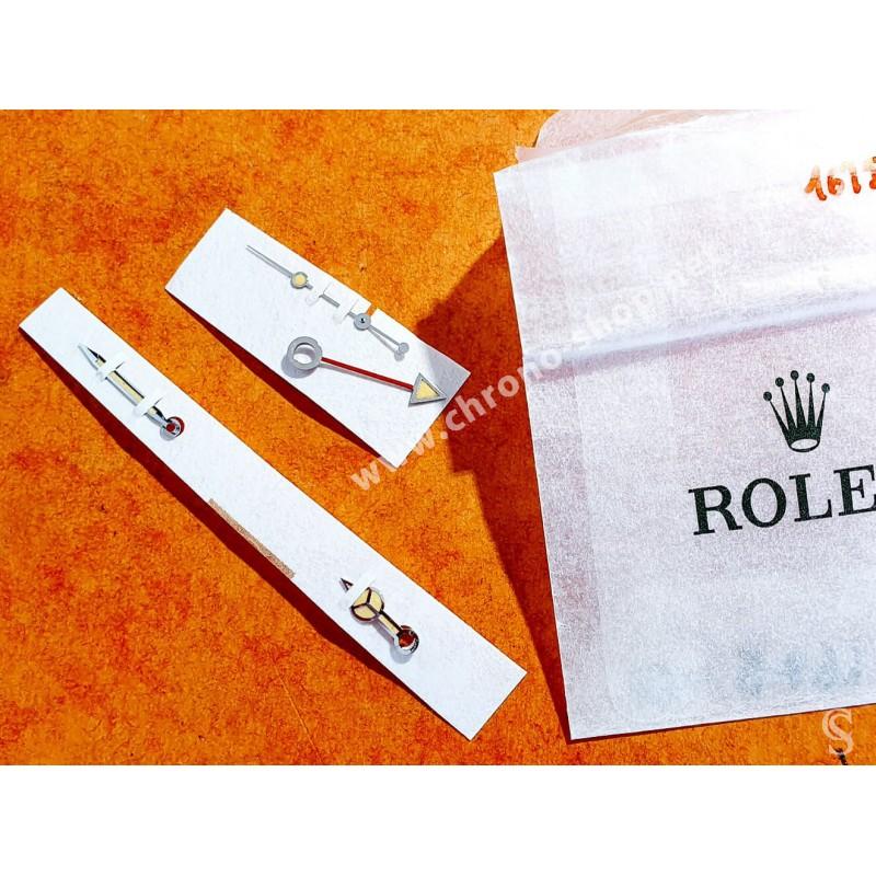 ROLEX CREAMY YELLOW ORIGINAL 5512,5513 TRITIUM HANDS SET WATCH SUBMARINER MERCEDES Cal 1520,1530