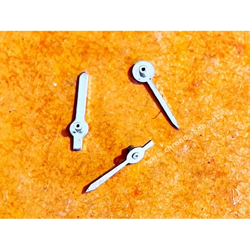 Breitling authentiques 3 x aiguilles acier chronographes montres chronos
