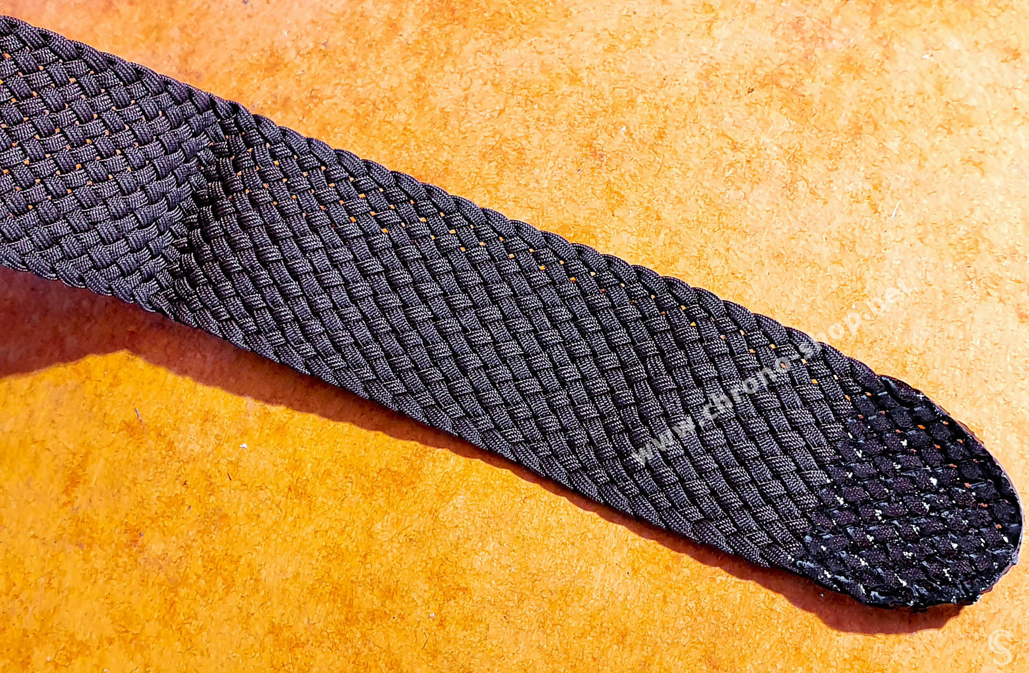 Vintage bracelet Nato Perlon tressé blanc 22mm boucle ardillon Montres IWC, Breitling, Panerai, Rolex