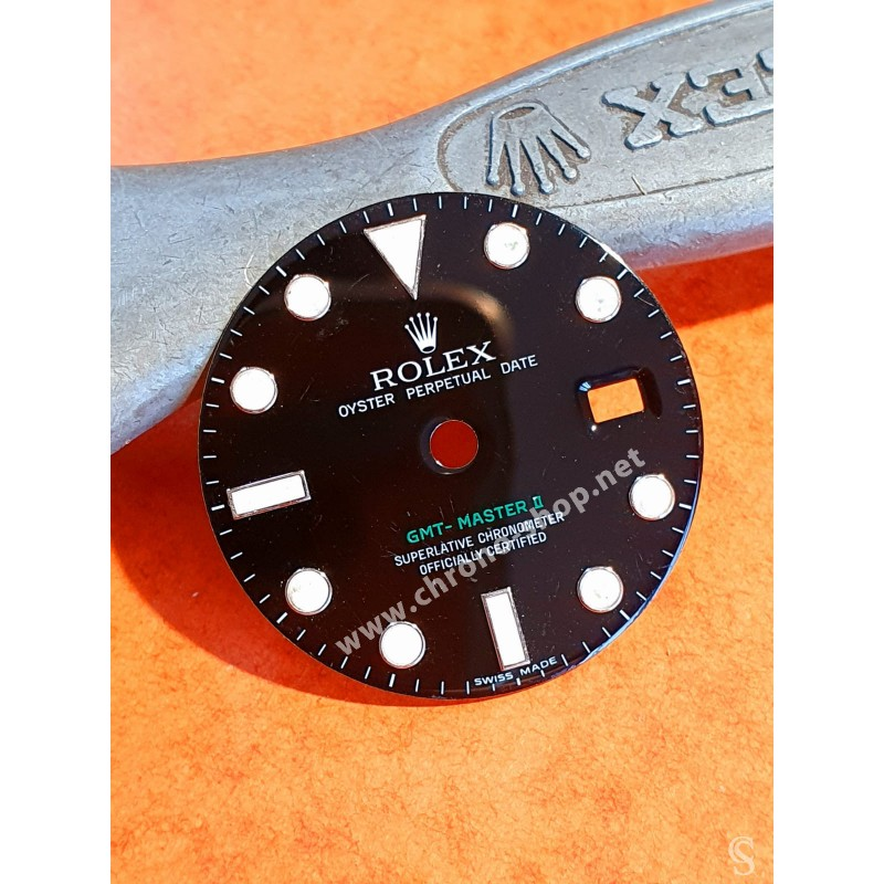 ROLEX CADRAN VERT GMT CERAMIQUE REF 116710LN