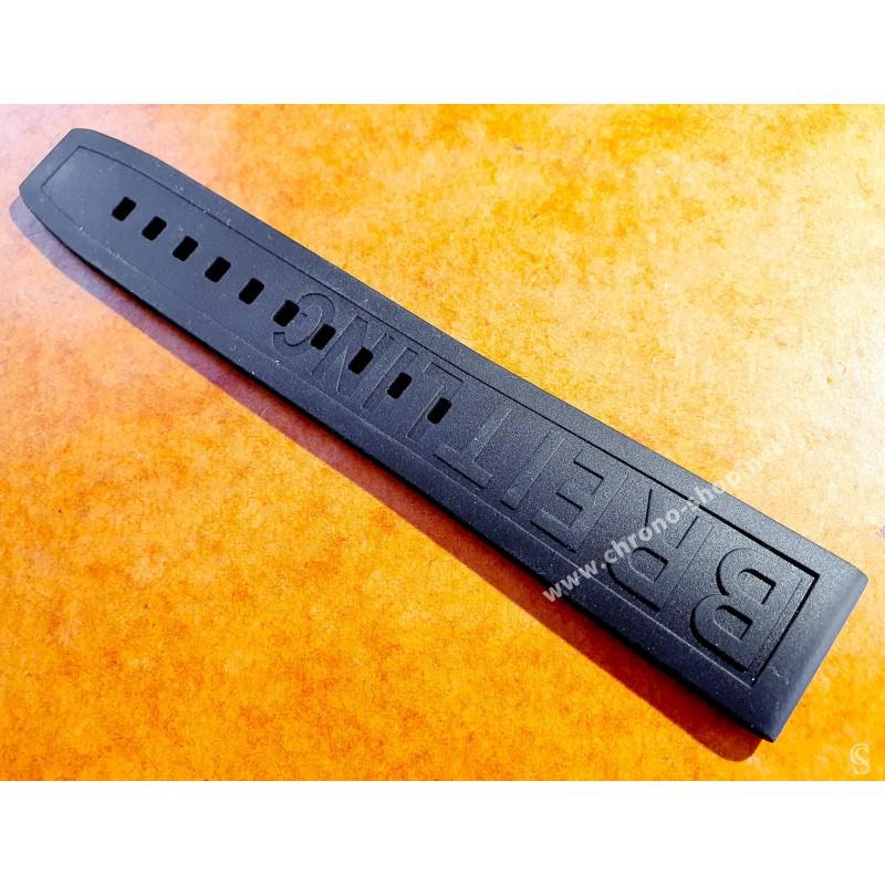 Breitling 1 x brin de bracelet montres 20mm caoutchouc PRO DIVER III ref 150S 20-18mm