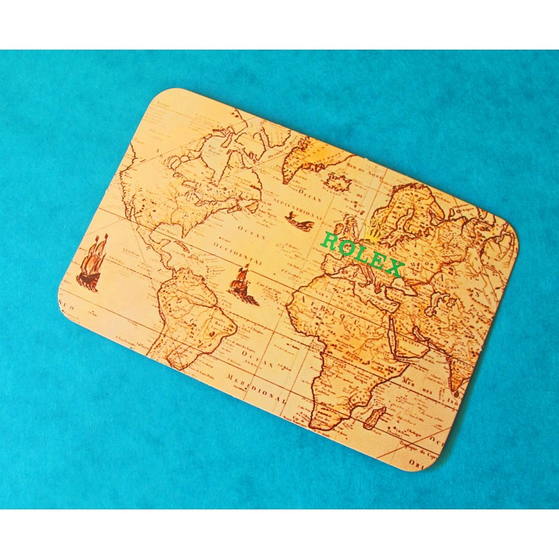 ROLEX VINTAGE CALENDAR CARD 1994-1995