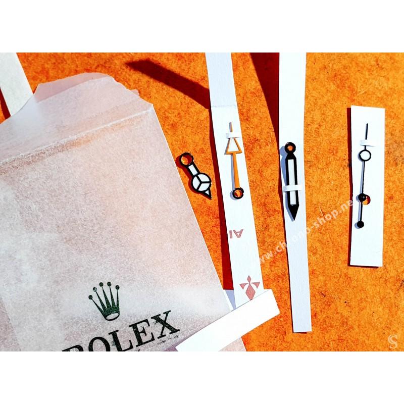 Rolex authentique Set aiguilles CHROMALIGHT Montres Explorer II ref 216570, ref 410-216570-1