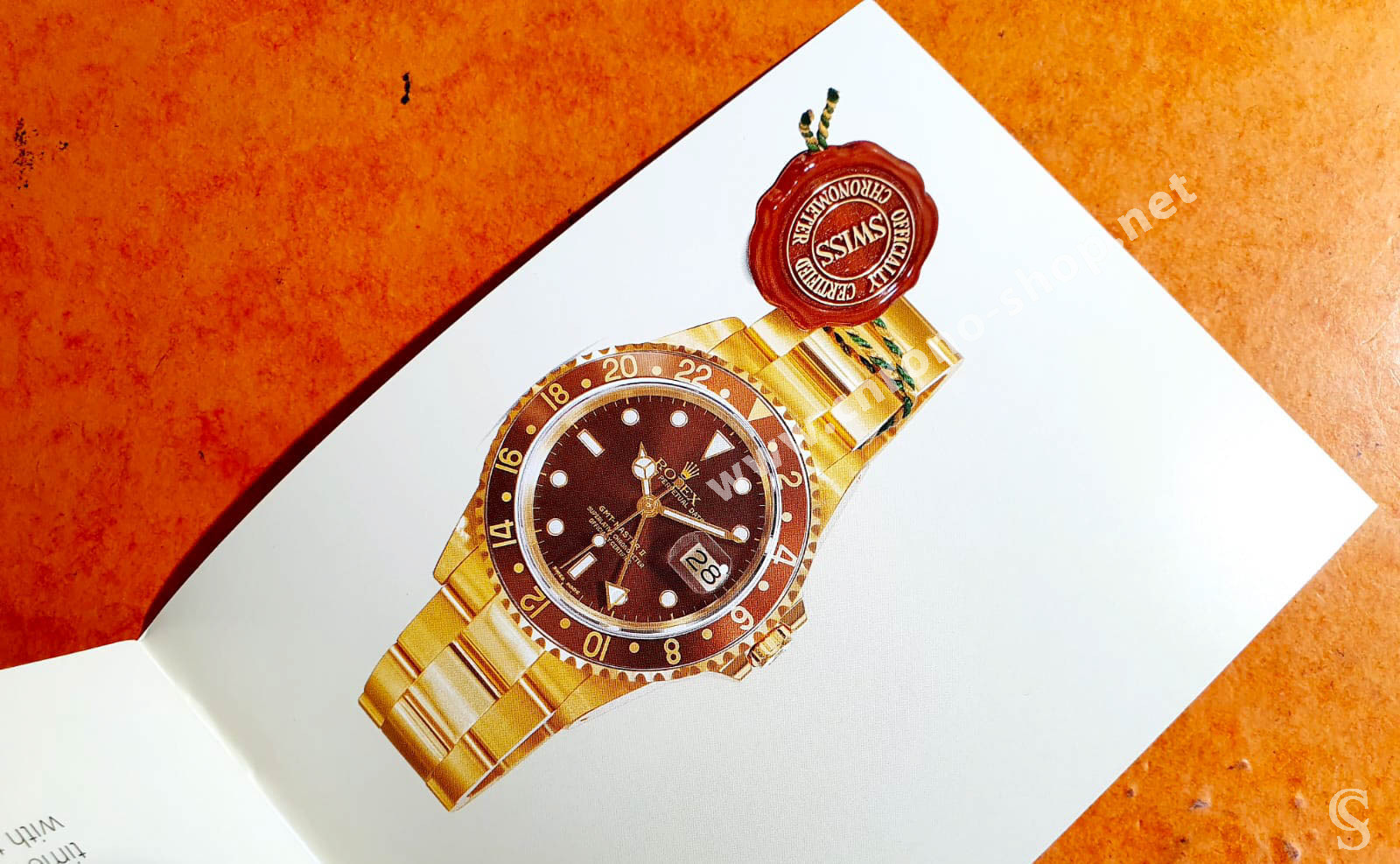 BOOKLET GMT MASTER II 16710