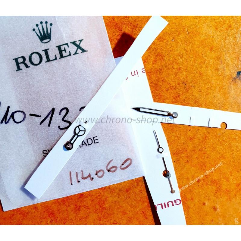 Rolex original jeu aiguilles CHROMALIGHT 410-137 montres Submariner 114060