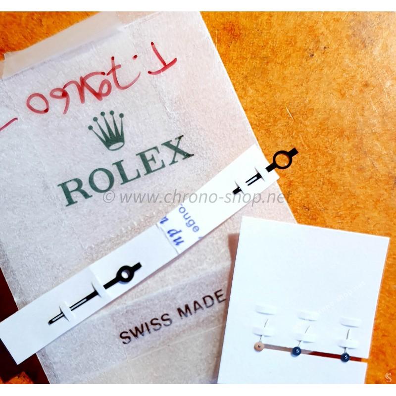 Tudor Rare jeu aiguilles noires luminova & chronos Tudor Oysterdate Chronograph Prince Date ref 79160