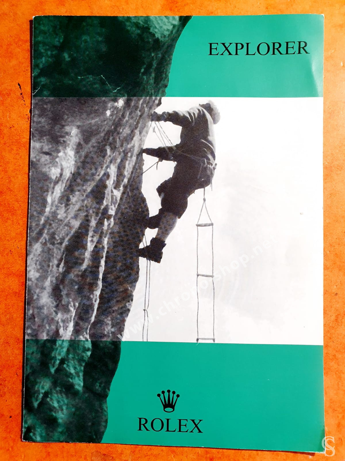 VINTAGE 1966 Rolex Brochure for EXPLORER MODEL 1016  EXTREMELY RARE COLLECTIBLE GOODIE