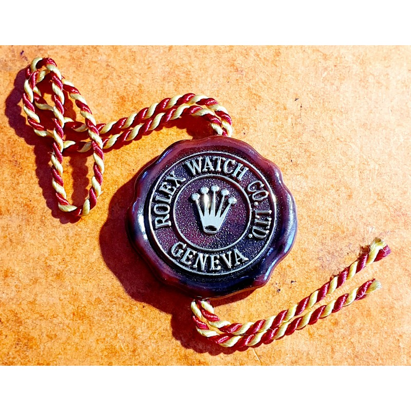 Rolex Vintage 50-60s 5508,6205,6204,1016,6542 Officially Certified Chronometer Red Hang Tag Rare