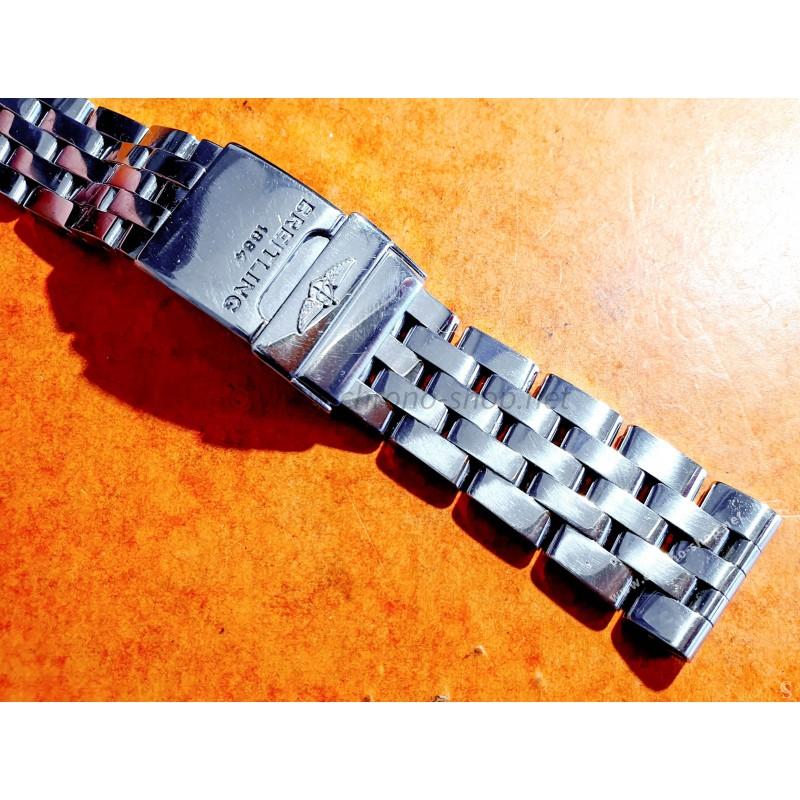 Breitling Bracelet acier pilot 20mm Ref 378A W17 12 Montres Chronomat AirBorne 41mm Windrider