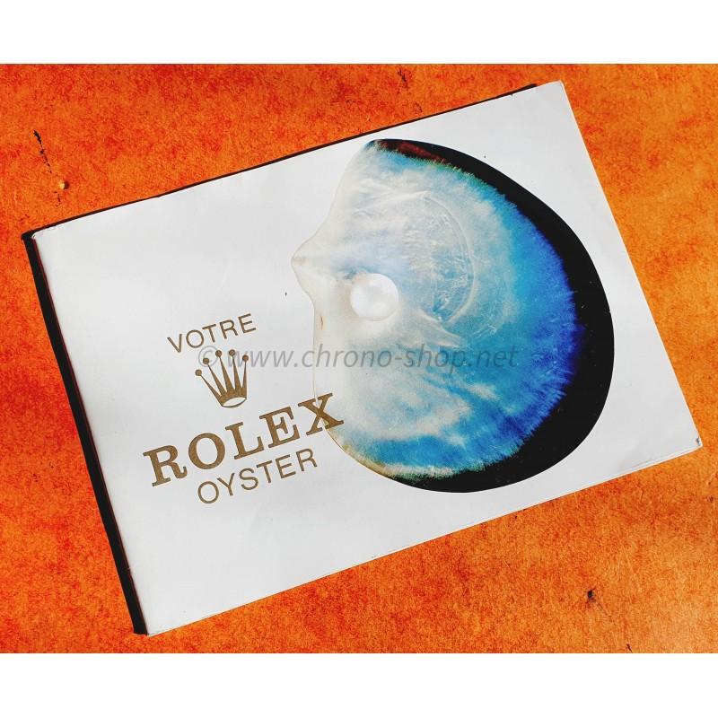 ROLEX LIVRET 1979 VOTRE ROLEX OYSTER MONTRES SUBMARINER EXPLORER GMT DAYTONA 5512 5513 1680 1665 1016 1655 1675 6263