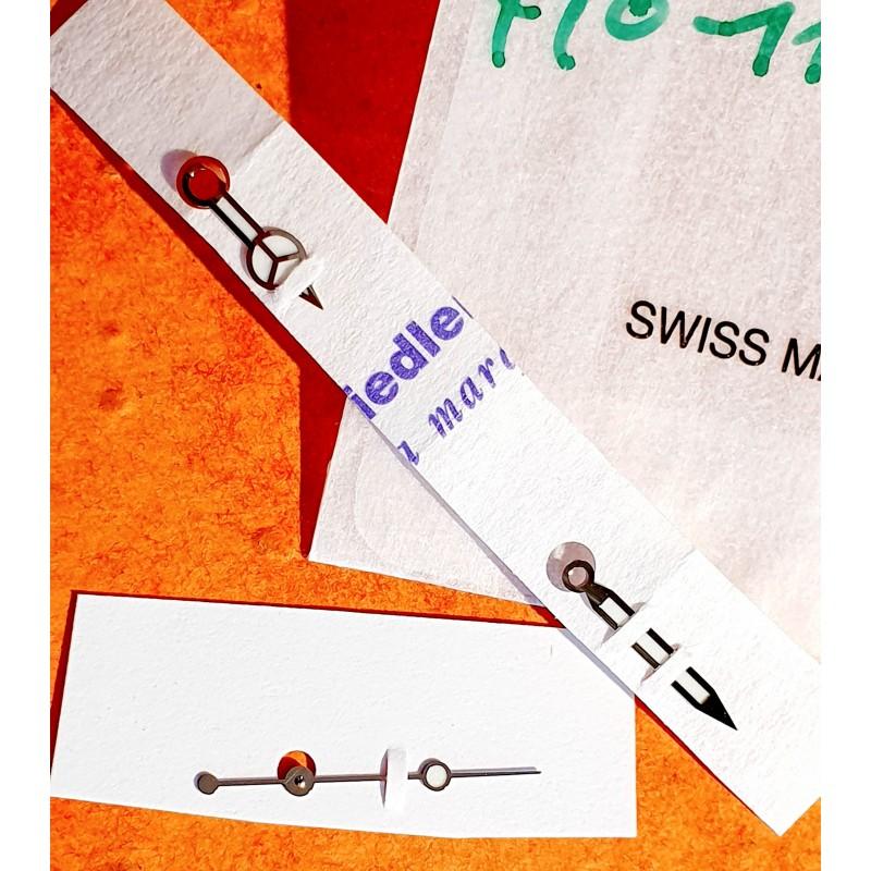 Rolex original jeu aiguilles CHROMALIGHT 410-116619 montres Submariner Date Bleue or blanc 116619