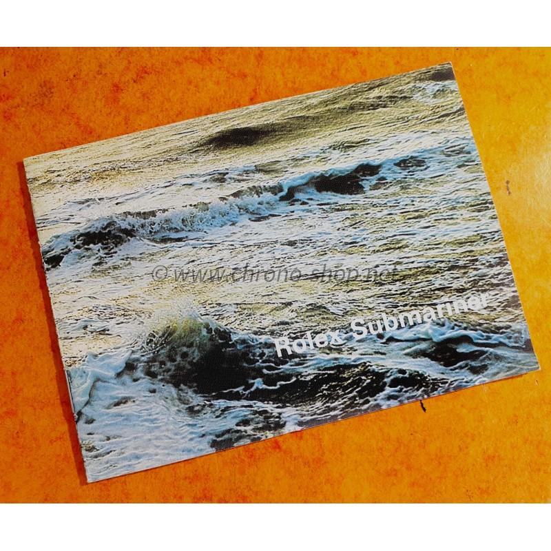 ROLEX 1977 BOOKLET LIVRET ANGLAIS MONTRES SUBMARINER ROUGE SEA-DWELLER DRSD DOUBLE RED 5513,1680,1665