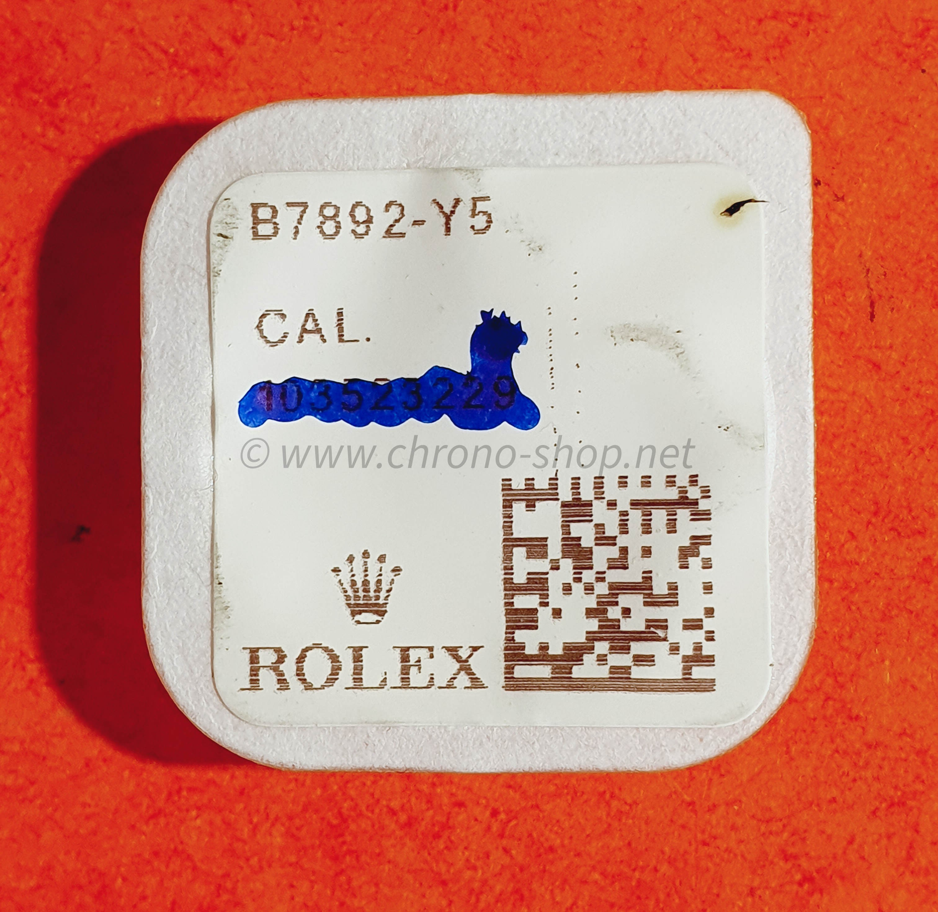 Rolex Genuine factory 1556,1525,1530,1520 Ref 7892,B7892-Y5 Screws for dial New Package ref 7892,B7892-Y5