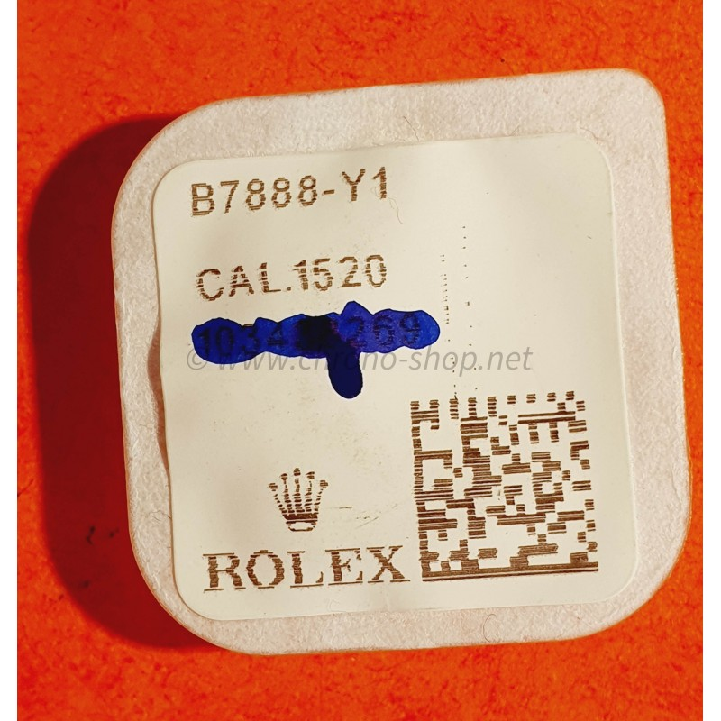 ROLEX fourniture horlogère de montres anciennes Roue de minuterie Cal automatique 1520, 1530, 1560, 1570 ref 1530-7888