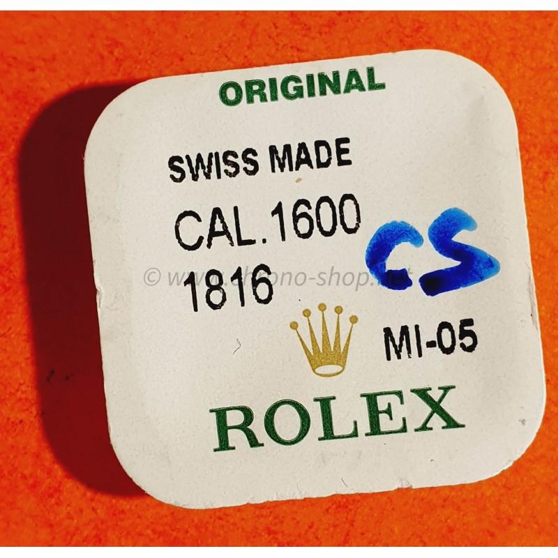 ROLEX fourniture horlogère de montres anciennes Roue d'échappement Calibre Rolex mécanique 1600 Cellini ref 1816